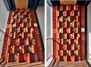 Come raffreddare casa con una parete vegetale di argilla riciclata