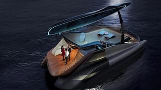 Fibonacci, lo yacht che si apre come un pianoforte