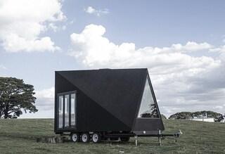 La mini casa mobile che sembra il Sandcrawler di Star Wars