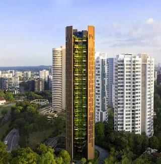 EDEN, la città giardino di Singapore che si mimetizza con l'ambiente