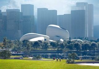 MAD Architects progetta il Parco della cultura della baia di Shenzhen