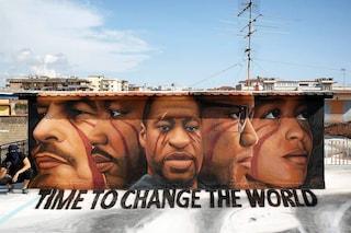 Goerge Floyd, la street art per non dimenticare
