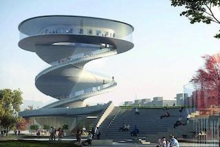 Nordic Office of Architecture crea una torre a spirale con vista a 360° su Nanchang