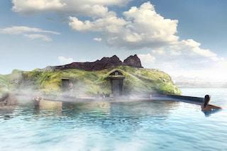 Sky Lagoon, le terme islandesi nel cuore dell'Oceano con vista sull'Aurora Boreale