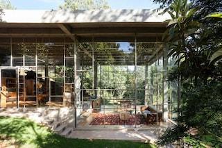 Casa Biblioteca, la villa immersa nella foresta pluviale del Brasile