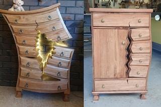 I mobili che sembrano usciti dai cartoni animati della Disney