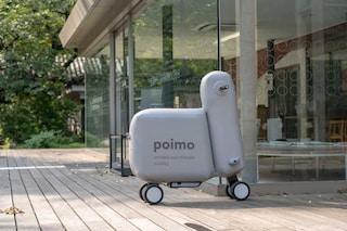 Poimo, il primo scooter elettrico gonfiabile che entra in uno zaino e viaggia con te