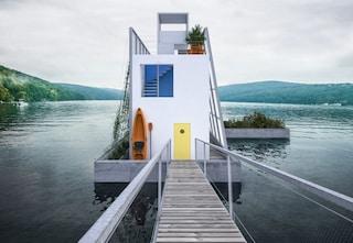 Carl Turner ha progettato una casa galleggiante che tutti possono scaricare e costruire