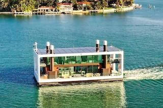 Arkup, la prima casa galleggiante ad energia solare
