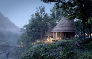 Nordisk Hygge Circles - Ugakei, le cabine per fare glamping nella natura del Giappone
