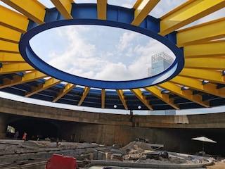 Torino, la prima rotonda sotterranea d'Italia con una maxi cupola da 700 tonnellate