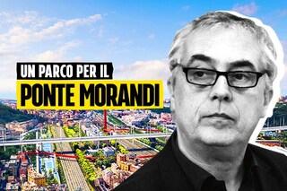 Ponte di Genova, Stefano Boeri racconta il suo Parco della Memoria del Polcevera
