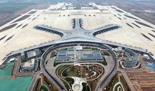 Qingdao Jiaodong Airport, l'aeroporto a forma di stella marina è stato completato