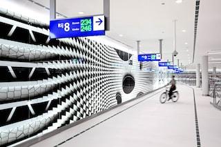 L'Aia ha il secondo garage per biciclette più grande del mondo: sembra un museo