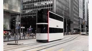 Island, il tram di Hong Kong per il distanziamento sociale
