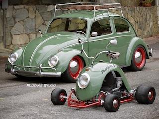 Bugkart Wasowski, il mini kart creato con il parafango di un Maggiolino Volkswagen