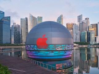 A Singapore il primo Apple Store galleggiante al mondo