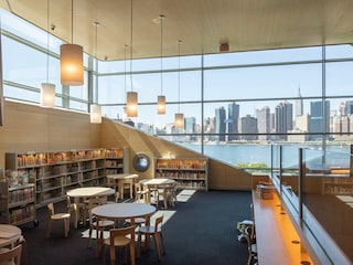 La Hunters Point Library, la nuova biblioteca pubblica di New York con vista mozzafiato