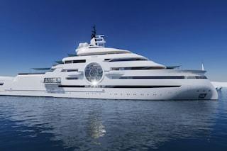 Thor Explore, il mega yacht da 100 metri che può arrivare sotto i ghiacciai artici