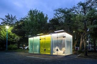 I nuovi bagni pubblici di Tokyo sono trasparenti
