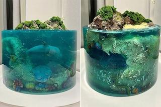 Dolnyk Bakery, l'artista di torte che sembrano isole paradisiache e fondali marini