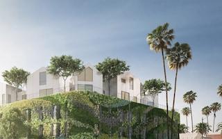 Gardenhouse, l'edificio col muro vivente più grande d'America