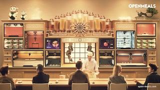 Sushi Singularity, il ristorante dove il sushi si stampa in 3D