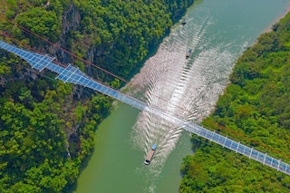 Il ponte di vetro più lungo del mondo