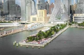 Il nuovo molo 97 sull'Hudson River Park di New York