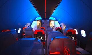 Nike progetta un Boeing 787 per gli atleti professionisti in volo e il loro benessere