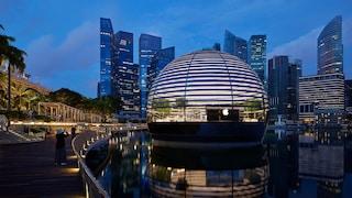 Apple ha inaugurato il nuovo store di Singapore ispirato al Pantheon di Roma