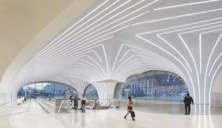 La nuova metropolitana senza conducente di Doha: completate le prime 37 stazioni