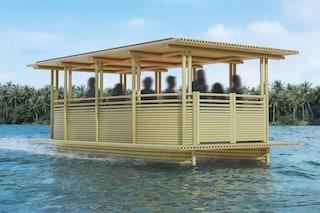 Hari Pontoon, il taxi acquatico in bambù che funziona a energia solare