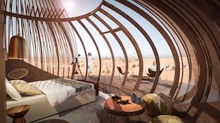 Oculus hotel, l'eco resort che si mimetizza nel deserto