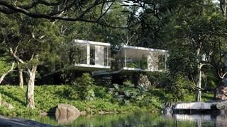 Casa Atibaia, la villa modernista immersa nella giungla brasiliana