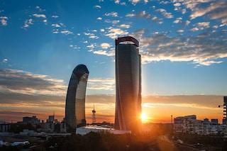 Milano, completata la Torre Libeskind di CityLife