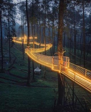 Orchid Forest Cikole, un ponte magico sospeso nella foresta indonesiana