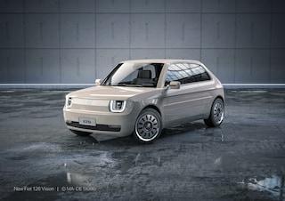 L'iconica Fiat 126 ritorna in versione elettrica