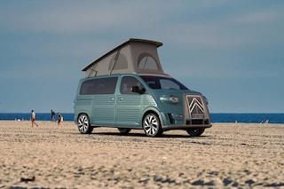 Il camper che rievoca il furgone Citroën tipo G mai realizzato