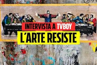 """La street art eterna di TvBoy: """"La strada è il museo più democratico che ci sia"""""""