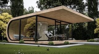 Wave Cabin, la mini casa da giardino che si ispira al film Inception