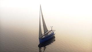 P1, lo yacht autosufficiente che funziona a energia eolica e solare