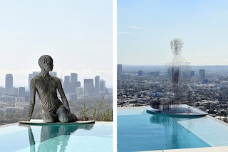 Julian Voss-Andreae crea sculture che svaniscono nell'aria