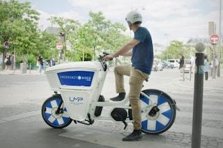 Emergency bike, l'ambulanza di Parigi che viaggia su bici elettrica