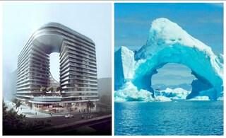 L'edificio di Sydney che riprende la forma di un iceberg