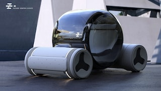 L'automobile ad idrogeno fatta di plastica riciclata