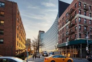L'edificio di New York che sorride