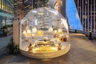 Capodanno 2021 a Times Square sotto una sfera luminosa