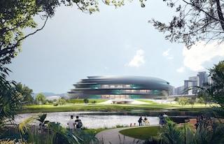 Zaha Hadid Architects crea il futuro museo della scienza e della tecnologia di Shenzhen