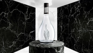 La bottiglia che è un'opera d'arte